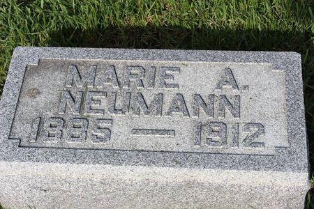 NEUMANN, MARIE A. - Mitchell County, Iowa | MARIE A. NEUMANN