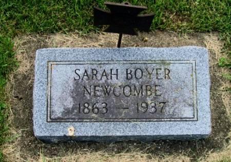 BOYER NEWCOMBE, SARAH - Mitchell County, Iowa | SARAH BOYER NEWCOMBE
