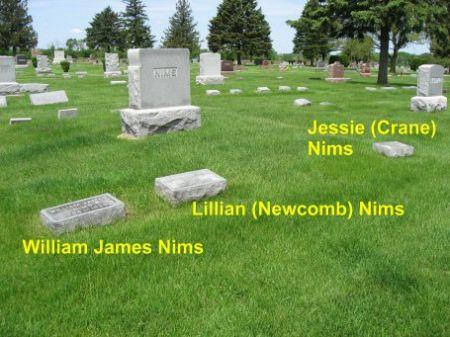 NIMS, WILLIAM JAMES (LOT) - Mitchell County, Iowa | WILLIAM JAMES (LOT) NIMS