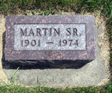 NORTH, MARTIN, SR. - Mitchell County, Iowa   MARTIN, SR. NORTH