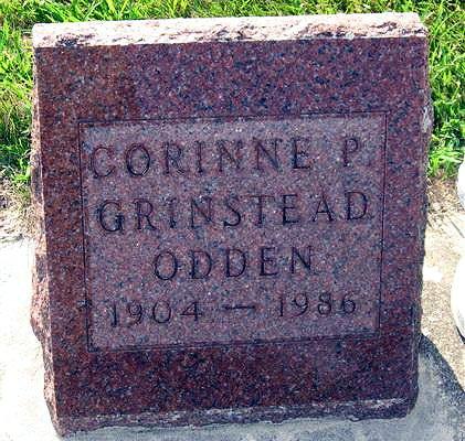 ODDEN, CORINNE P. - Mitchell County, Iowa | CORINNE P. ODDEN