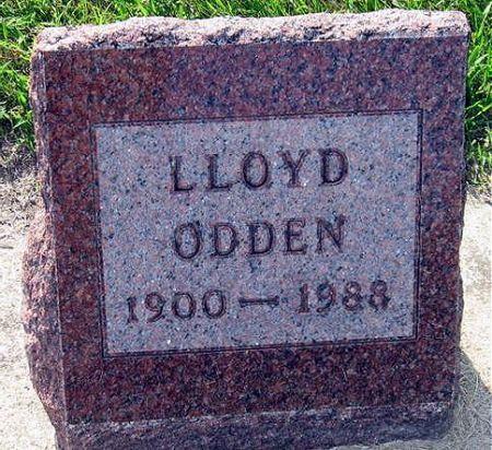 ODDEN, LLOYD - Mitchell County, Iowa   LLOYD ODDEN
