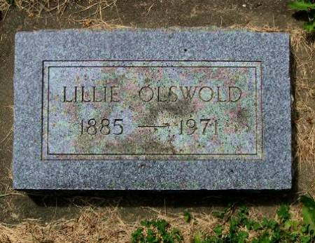 OLSWOLD, LILLIE - Mitchell County, Iowa   LILLIE OLSWOLD