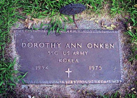 ONKEN, DOROTHY ANN - Mitchell County, Iowa | DOROTHY ANN ONKEN