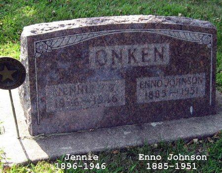 ONKEN, ENNO JOHNSON - Mitchell County, Iowa | ENNO JOHNSON ONKEN