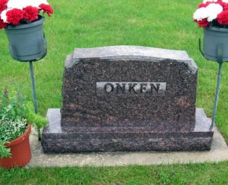 ONKEN, THOMAS (FAMILY STONE) - Mitchell County, Iowa | THOMAS (FAMILY STONE) ONKEN
