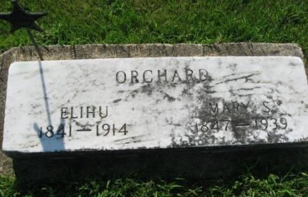 ORCHARD, MARY S. - Mitchell County, Iowa   MARY S. ORCHARD