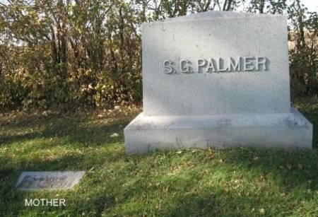 PALMER, S.G. (LOT) - Mitchell County, Iowa   S.G. (LOT) PALMER