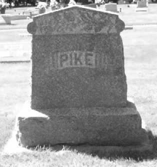 PIKE, FAMILY STONE - Mitchell County, Iowa   FAMILY STONE PIKE
