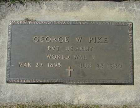 PIKE, GEORGE W. - Mitchell County, Iowa | GEORGE W. PIKE