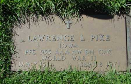 PIKE, LAWRENCE L. - Mitchell County, Iowa   LAWRENCE L. PIKE