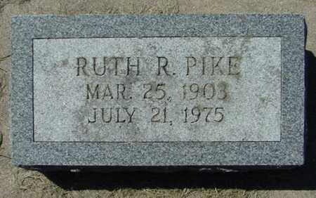 PIKE, RUTH R. - Mitchell County, Iowa   RUTH R. PIKE