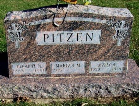 PITZEN, CLEMENT N. - Mitchell County, Iowa | CLEMENT N. PITZEN