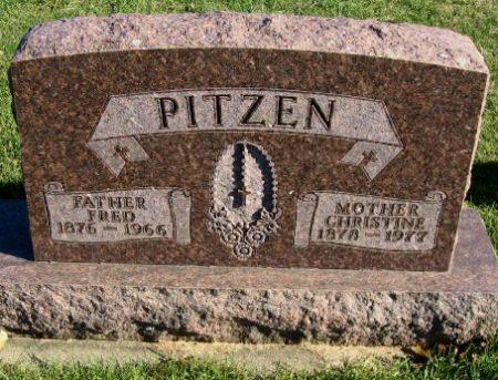 PITZEN, FRED - Mitchell County, Iowa | FRED PITZEN