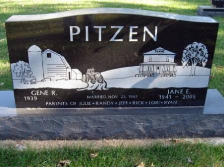 PITZEN, JANE E. - Mitchell County, Iowa | JANE E. PITZEN