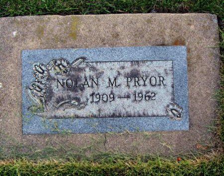 PRYOR, NOLAN M. - Mitchell County, Iowa   NOLAN M. PRYOR