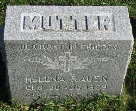 RAUEN, HELENA - Mitchell County, Iowa | HELENA RAUEN