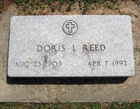 REED, DORIS L. - Mitchell County, Iowa   DORIS L. REED