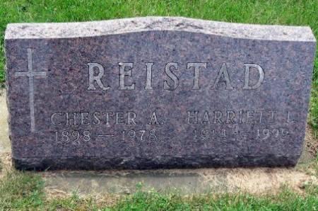 REISTAD, HARRIETT L. - Mitchell County, Iowa   HARRIETT L. REISTAD