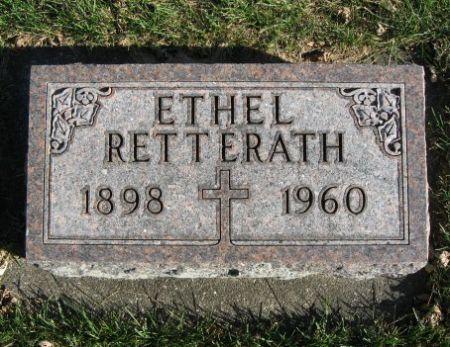 RETTERATH, ETHEL - Mitchell County, Iowa   ETHEL RETTERATH