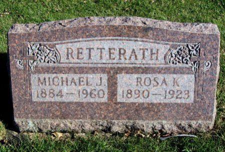 RETTERATH, MICHAEL J. - Mitchell County, Iowa   MICHAEL J. RETTERATH