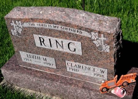 RING, EDITH M. - Mitchell County, Iowa   EDITH M. RING