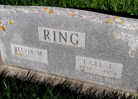 RING, EARL JOSEPH - Mitchell County, Iowa   EARL JOSEPH RING
