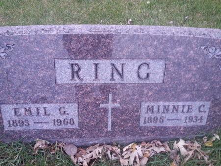 RING, MINNIE C. - Mitchell County, Iowa | MINNIE C. RING