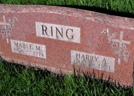 DILLY RING, MABLE M. - Mitchell County, Iowa   MABLE M. DILLY RING