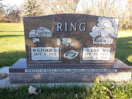 RING, ILENE A. - Mitchell County, Iowa   ILENE A. RING