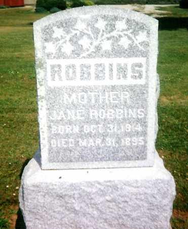 ROBBINS, JANE - Mitchell County, Iowa   JANE ROBBINS