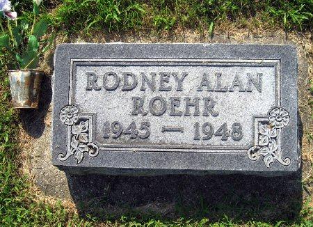 ROEHR, RODNEY ALAN - Mitchell County, Iowa   RODNEY ALAN ROEHR
