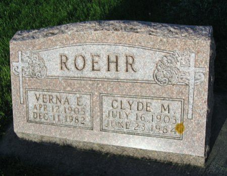 ROEHR, CLYDE M. - Mitchell County, Iowa | CLYDE M. ROEHR