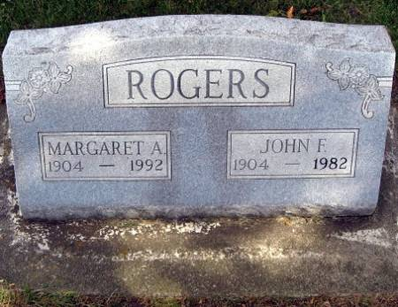 ROGERS, MARGARET A. - Mitchell County, Iowa   MARGARET A. ROGERS