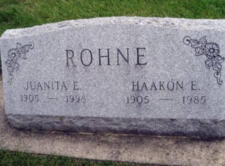 ROHNE, HAAKON E. - Mitchell County, Iowa   HAAKON E. ROHNE