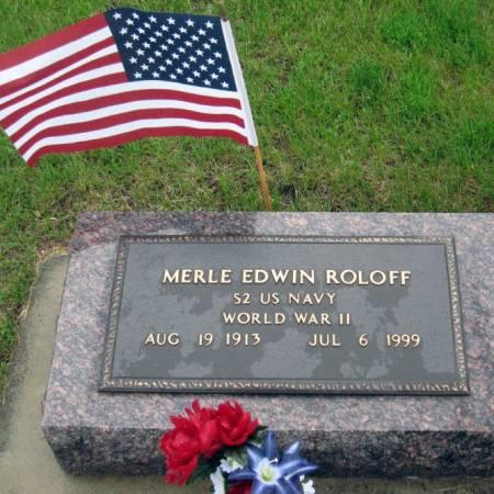 ROLOFF, MERLE EDWIN - Mitchell County, Iowa   MERLE EDWIN ROLOFF