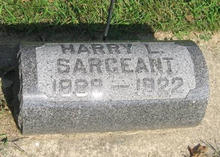 SARGEANT, HARRY L. - Mitchell County, Iowa | HARRY L. SARGEANT