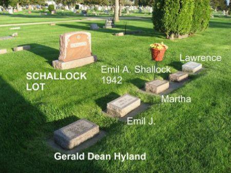 SCHALLOCK, LAWRENCE (LOT) - Mitchell County, Iowa   LAWRENCE (LOT) SCHALLOCK