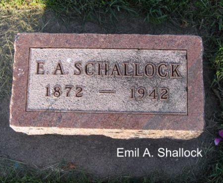 SCHALLOCK, EMIL A. - Mitchell County, Iowa | EMIL A. SCHALLOCK