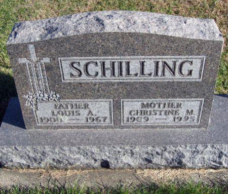 SCHILLING, CHRISTINE M. - Mitchell County, Iowa | CHRISTINE M. SCHILLING