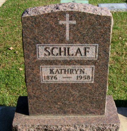 SCHLAF, KATHRYN - Mitchell County, Iowa | KATHRYN SCHLAF
