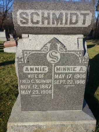 SCHMIDT, ANNIE - Mitchell County, Iowa | ANNIE SCHMIDT
