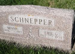 SCHNEPPER, MINNIE - Mitchell County, Iowa   MINNIE SCHNEPPER