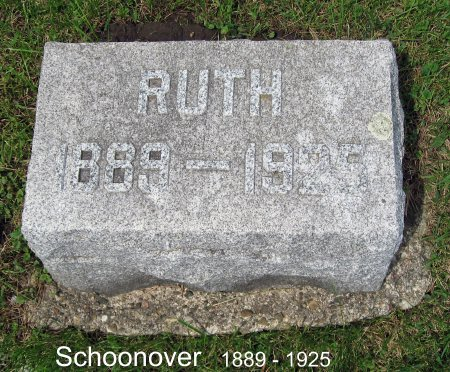 SCHOONOVER, RUTH - Mitchell County, Iowa | RUTH SCHOONOVER