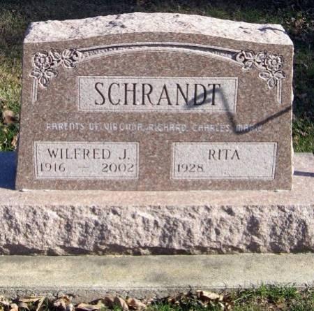 SCHRANDT, WILFRED J. - Mitchell County, Iowa | WILFRED J. SCHRANDT