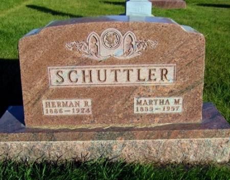 SCHUTTLER, HERMAN R. - Mitchell County, Iowa   HERMAN R. SCHUTTLER