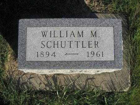 SCHUTTLER, WILLIAM M. - Mitchell County, Iowa | WILLIAM M. SCHUTTLER