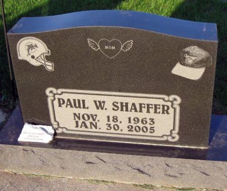SHAFFER, PAUL W. - Mitchell County, Iowa   PAUL W. SHAFFER