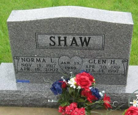 SHAW, NORMA L. - Mitchell County, Iowa | NORMA L. SHAW