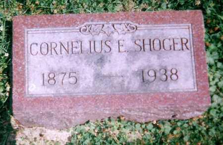 SHOGER, CORNELIUS - Mitchell County, Iowa   CORNELIUS SHOGER